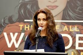 Lynda Carter in 2017 - United Nations with Gal Gadot